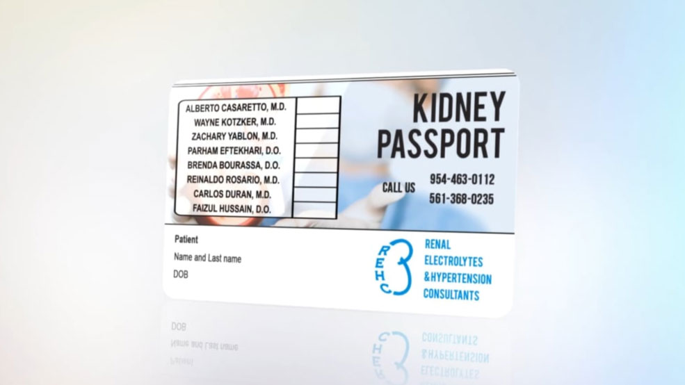 Kidney Passport