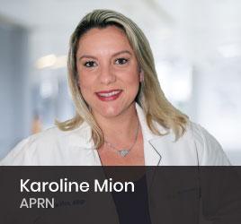 Nephrology Nurse Karoline Mion