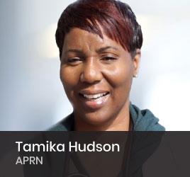 Nephrology Nurse Tamika Hudson