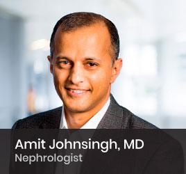 Nephrologist Amit Johnsingh, MD