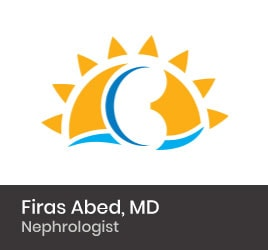 Nephrologist Firas Abed, MD