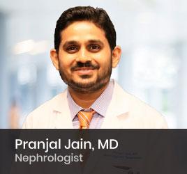 Nephrologist Pranjal Jain, MD