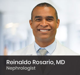 Nephrologist Reinaldo Rosario, MD